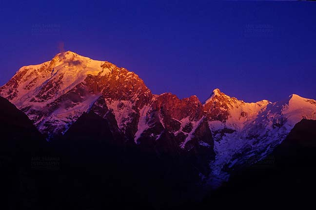 Mountains- Kinnaur Kailash (India) - Kinnaur Kailash in Kinnaur District of Himachal Pradesh, India. by Anil