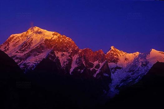 Mountains- Kinnaur Kailash (India) - Kinnaur Kailash in Kinnaur District of Himachal Pradesh, India.