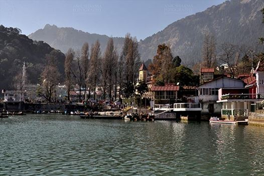 Travel- Nainital (Uttarakhand) - Nainital, Uttarakhand, India- November 13, 2015: Boat Point at Mallital, Nainital, Uttarakhand, India.