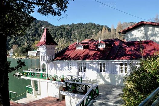 Travel- Nainital (Uttarakhand) - Nainital, Uttarakhand, India- November 11, 2015: Old House Governer Boat House at Mallital, Nainital, Uttarakhand, India.