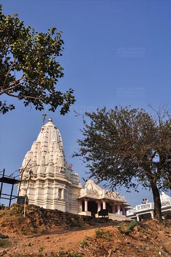 Baneshwar, Dungarpur, Rajasthan, India- February 14, 2011: The temple of Baneshwar Mahadev at Baneshwar, Dungarpur, Rajasthan, India