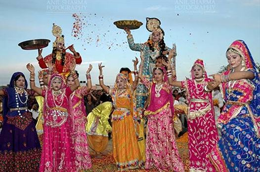 "Festivals- Holi and Elephant Festival (Jaipur) - Holi and Elephant Festival is celebrated in Jaipur,Rajasthan during the Hindu month of Phagun (March), by singing special songs called ""Faag"", which celebrate the triumph of good over evil and the onset of spring."